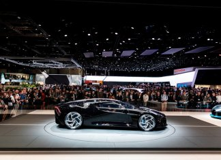 Here is the World's most expensive Car - Bugatti La Voiture Noire