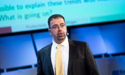 Daron Acemoglu Economist, Massachusetts Institute of Technology, First Bank of Nigeria 125 years anniversary, President Buhari, Eko Hotel