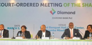 Diamond Bank shareholders approve merger at EGM