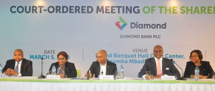 Diamond Bank shareholders approve merger at EGM