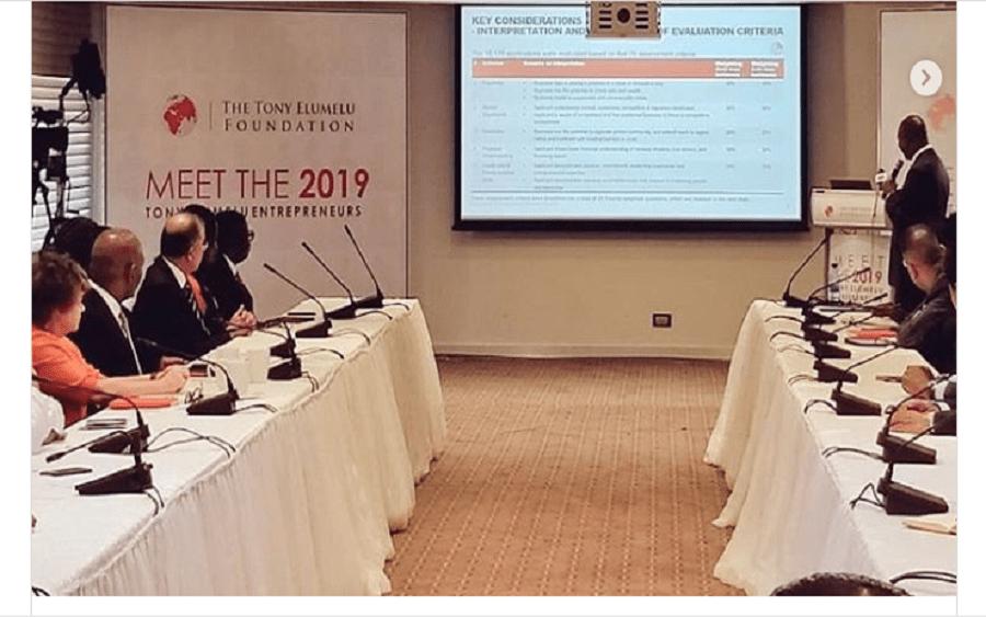 shortlisted applicants for the 2019 Tony Elumelu Entrepreneurship Programme