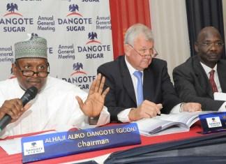 Dangote Sugar Plc, Dangote Sugar's 9 months results show slight decline in profit, Dangote Sugar Refinery: Revenue recovers but cost pressures remain