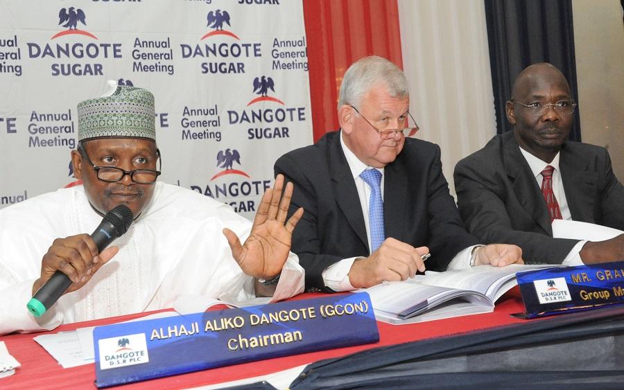 Dangote Sugar Plc, Dangote Sugar's 9 months results show slight decline in profit