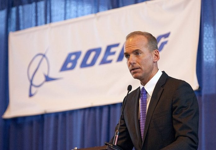 Boeing CEO addresses new issues on Boeing 737 MaxFAA pilots discovers flaw on Boeing 737 Max plane, Pilots Sue Boeing, 400 Pilot X sue Boeing for 737 Max crash, MCAS, American Airlines, Air Peace, Boeing's MCAS system, Boeing suspends forecast, Boeing miss earnings projection, Boeing first quarter revenue earnings, Ethiopian Airlines B737-Max8 aircraft crash, Air Peace, Allen Onyema, Federal Government, FAA investigation into Boeing