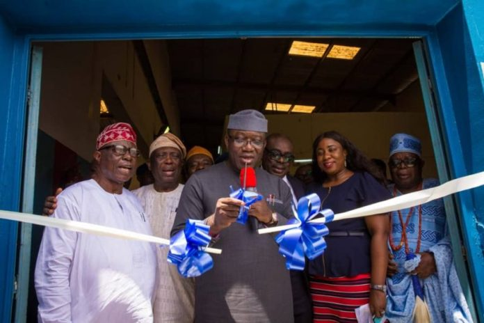 Governor Fayemi commissions Gossy Water