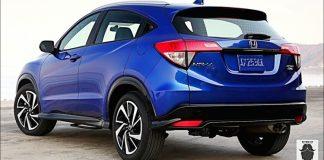 Honda HRV rear view