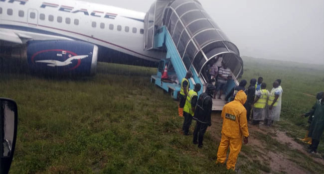 Air Peace Overshoots Runway