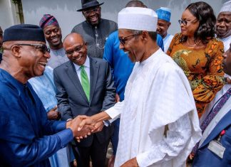 Buhari inaugurates new NEC, Monthly allocation, FAAC disbursed the sum, FG to review revenue sharing formula, Nigerian Oil Producing States