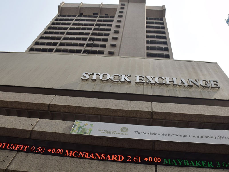 The Nigerian Stock Market traded negatively on Thursday