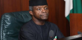 Twitter deactivate Yemi Osinbajo's Twitter account, How Nigeria's LPG sector can create 2 million jobs -Osinbajo, budget support, NECokays$250 million investment in NSIA