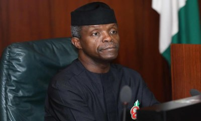 Twitter deactivate Yemi Osinbajo's Twitter account, How Nigeria's LPG sector can create 2 million jobs -Osinbajo, budget support, NEC okays $250 million investment in NSIA , MSMEClinic gets 200,000 capacity yam storage facility in Benue