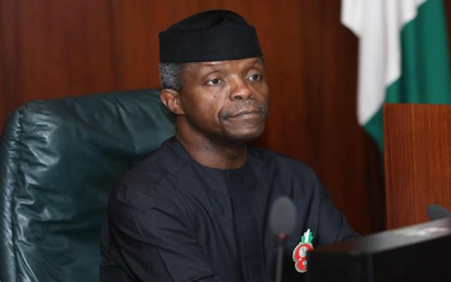 Twitter deactivate Yemi Osinbajo's Twitter account, How Nigeria's LPG sector can create 2 million jobs -Osinbajo, budget support, NEC okays $250 million investment in NSIA