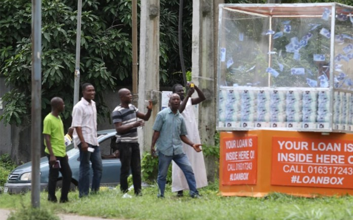 A floating loan box: Another wonder in Lagos?