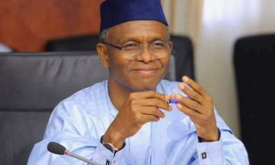 Kaduna state governor, El-Rufai tests positive to coronavirus, El Rufai extends lockdown by 2 weeks from June 1, releases revised regulations