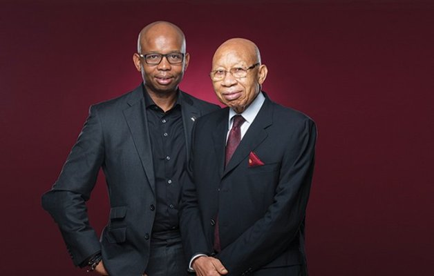 Pascal Dozie and son