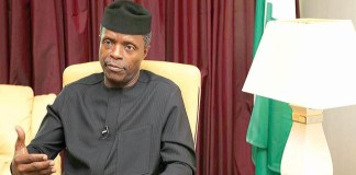 FG foreign reserves Nigeria Yemi-Osinbajo, FG negotiates with Governors on bail-out fund, as NEC approves 100 billion for NLTP, bail-out fund States Governors