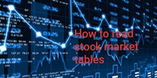 How to read stock table