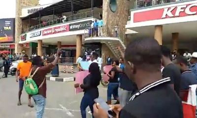 Nigerians invade Shoprite, Lagos State Government, Lai Mohammed react to attacks on Shoprite in Nigeria  MTN office shut over xenophobic attacks
