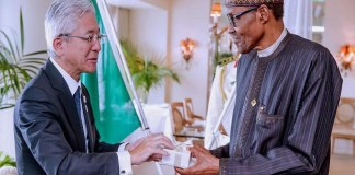 Buhari in japan