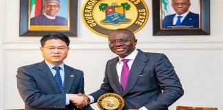 China topartner Lagos on trade
