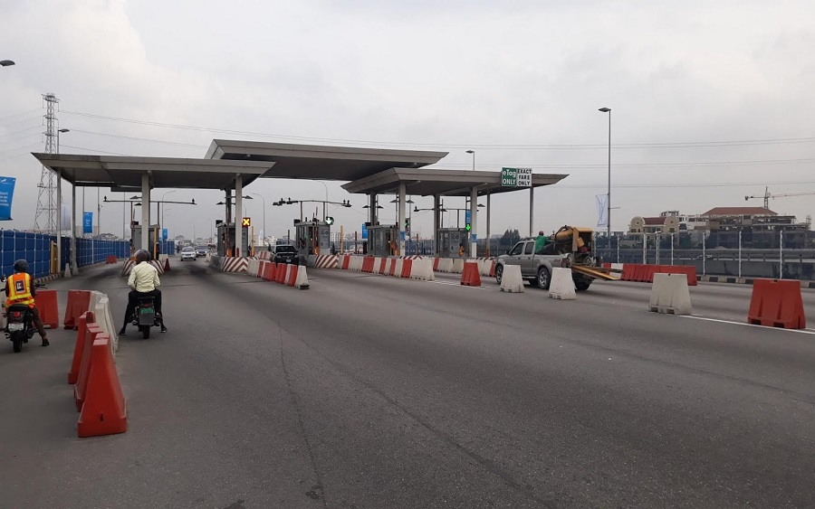 Sanwo-olu, Lekki Ikoyi toll bridge
