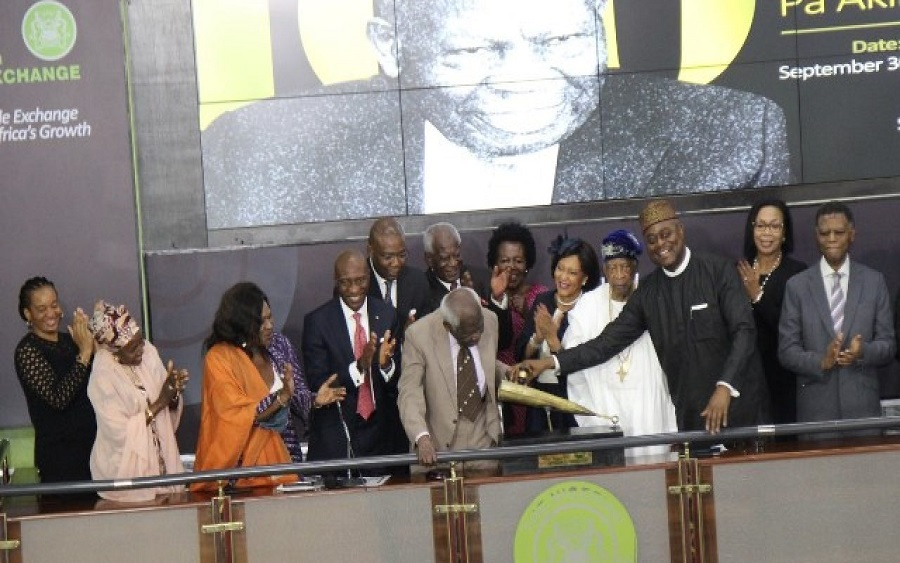 NSE honours the Centenarian Mr. Akintola Williams
