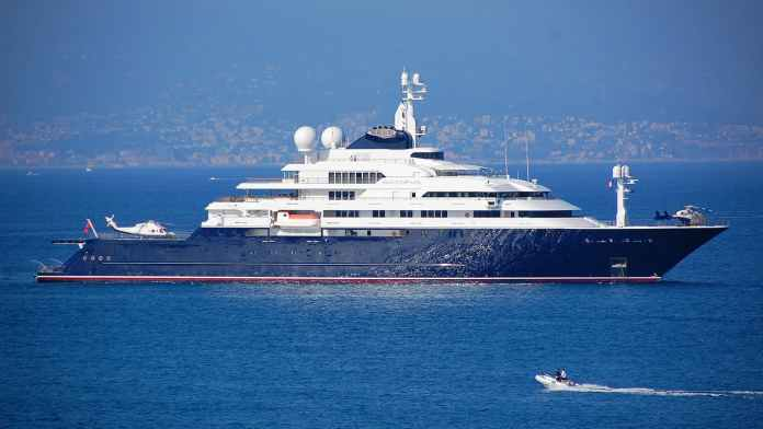 This billionaire's yacht is up for sale for $326 Million