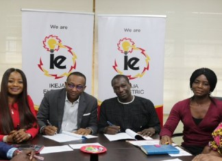 Just In: Ikeja Electric signs pact with Onigbagbo Residents Association