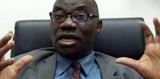 Chairman NERC/CEO, Prof. James Momoh