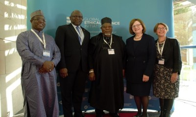 FirstBank's Adesola Adeduntan joins other Global Finance Practitioners at Ethical Finance Conference, Edinburgh