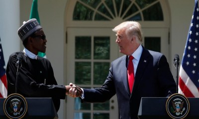 NigeriaAt59: Donald Trump writes President Buhari