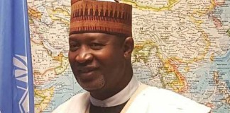The Minister of Aviation, Hadi Sirika