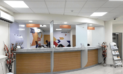 Nigeria has over 40 million people without access to bank accounts – Access Bank, Access Bank Surulere branch engulfed by fire