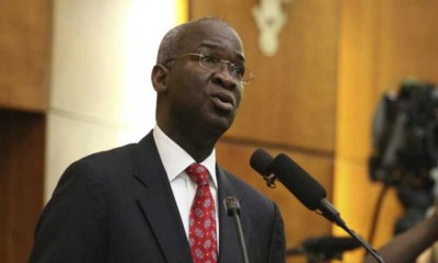Federal Executive Council, State Governments seek refund over repaired federal roads, FG owing road contractors N306 billion as public transport owners back toll gate , FG committed to completing Lagos- Ibadan Expressway — Fashola