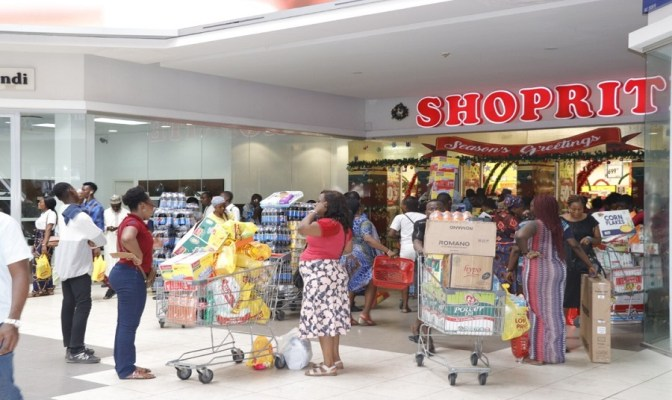 Black friday, shoppers, Shoprite, sales