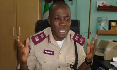 FRSC blames Lagos-Ibadan gridlock on Christmas, trading activities
