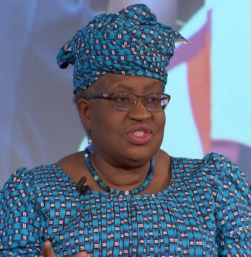 Okonjo-Iweala joins South Africa's presidential economic advisory council as nation struggles with recession