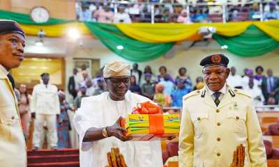 Sanwo-Olu presents N1.1 trillion 2020 budget