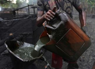 crude oil theft