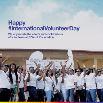 International Volunteer Day – Oando Foundation renews commitment to adopted school through Art and Craft
