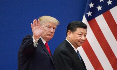Presidents Xi Jingping and Trump