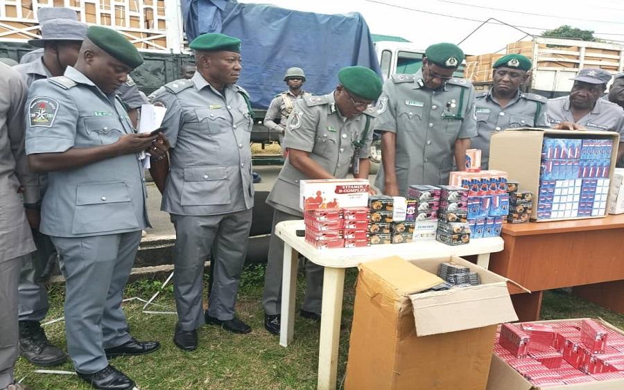 Nigeria Customs Service seizes contraband worth N67 million