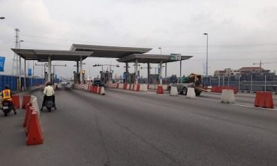 Motorists to start paying N1000 as penalty atLekki-Ikoyi Toll Plaza