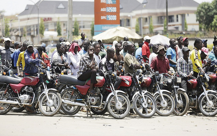 """Motorcycle """"Okada"""" fare in Nigeria surges by 102.5% in March 2021"""