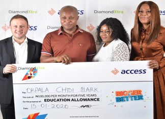 Access Bank rewards businessman with education allowance for 5 years