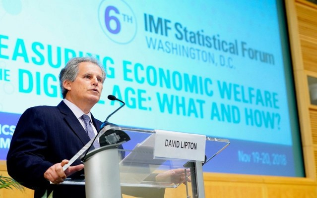 IMF moves to replace first Deputy MD, David Lipton