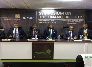 NSE's Oscar Onyema urges capital market operators to take advantage of Finance Act, See the impacts the 2019 Finance Act will have on the capital market, according to NSE and KPMG