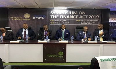 NSE's Oscar Onyema urges capital market operators to take advantage of Finance Act, Seethe impacts the 2019 Finance Act will have on the capitalmarket, according to NSE and KPMG, Nigerian bourse loses N2 trillion in value in Q1 2020, as oil plunged 65% QOQ