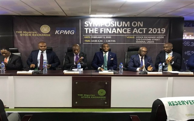 NSE's Oscar Onyema urges capital market operators to take advantage of Finance Act