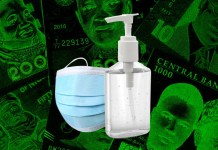 Prices of face mask and sanitizers increases